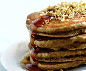 fluffy, pancakes, and grain image