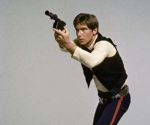 star wars, han solo, and harrison ford image