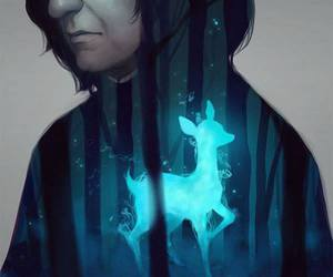 harry potter, snape, and always image