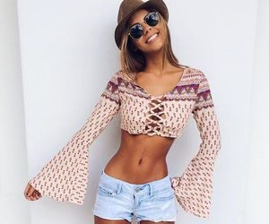 beauty, clothing, and girl image