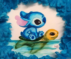 disney and stich image