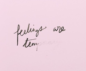 quotes, feelings, and pink image