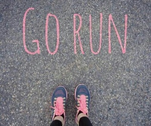 run, fitness, and go image