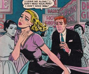 comic, love, and art image