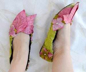 fadas, flowers, and shoes image