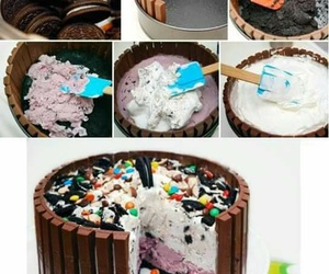 cake, diy, and oreo image