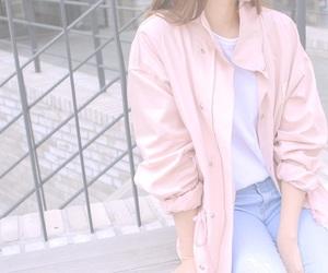 kfashion, korean fashion, and pastel image
