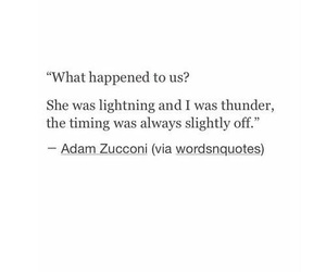 quote, sad, and lightning image