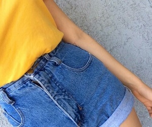 yellow, grunge, and tumblr image