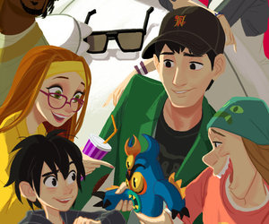 big hero 6, disney, and Fred image