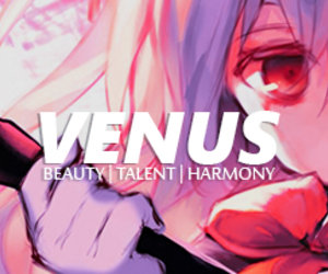 anime, purple hair, and Venus image