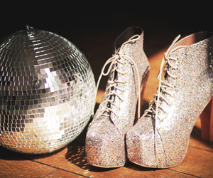 shoes, glitter, and lita image