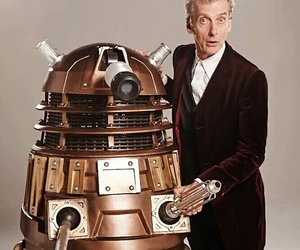 Dalek and peter capaldi image