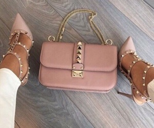 heels, Valentino, and bag image