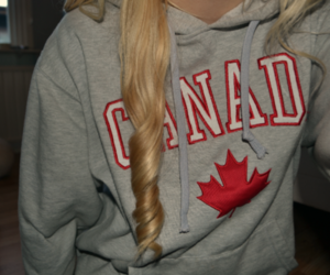 canada, hair, and blonde image