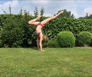 bikini, cheerleader, and fitness image