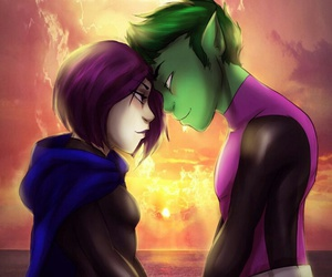 DC, teen titans, and bbrae image