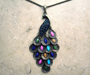 animal, colours, and necklace image
