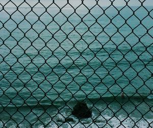 sea, beach, and blue image