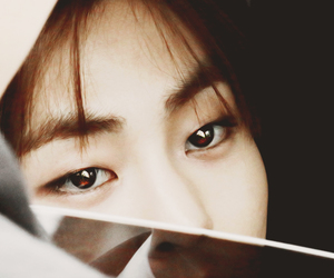 exo, xiumin, and eyes image