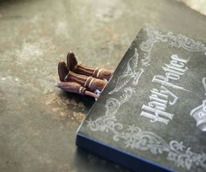 book, harry potter, and bookmark image