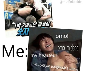 jungkook, funny, and bts image
