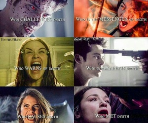 teen wolf, death, and teenwolf image