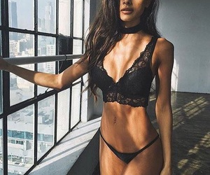 fashion, clothes, and fitness image