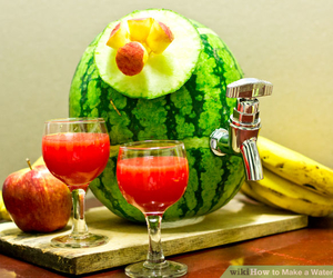 drink, party, and watermelon image