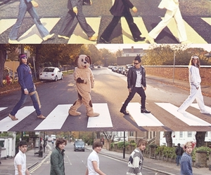 the fucking 1d .l. and the beatles are best image