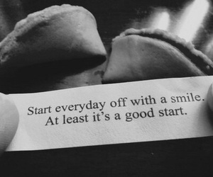 smile, quote, and start image