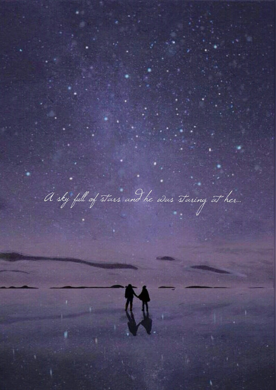 A Sky Full Of Stars And He Was Staring At Her Atticus Artwork