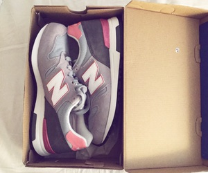 fashion, nb, and new balance image
