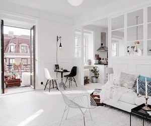 design, home, and white image