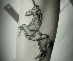 unicorn and tatoos image