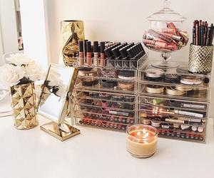 beauty, candle, and luxury image