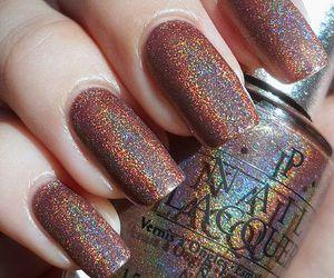 glitter, nail art, and nails image