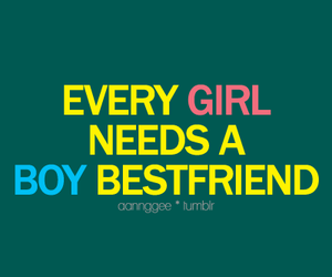 girl, boy, and quote image