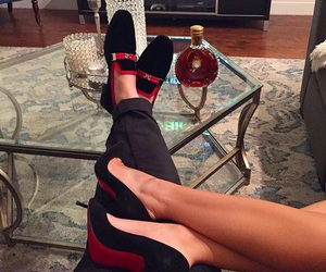 couple, luxury, and shoes image