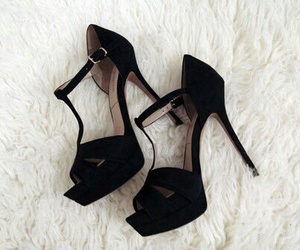 heels, WITH, and high image