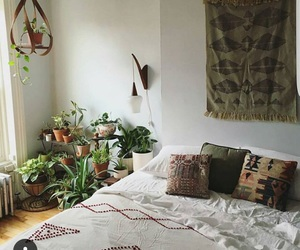 boho, interior design, and hippie image