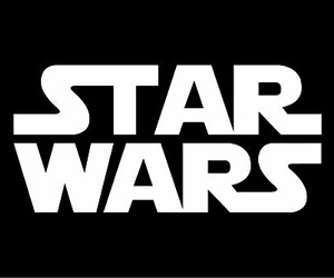 star wars, black, and Logo image