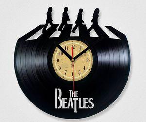 beatles, john lennon, and record image