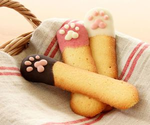 food, cat, and sweet image