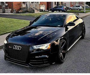 audi, black, and car image