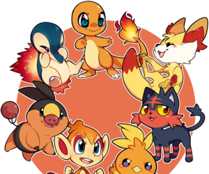 pokemon, fire, and red image