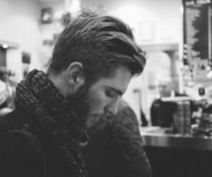boy, handsome, and beard image