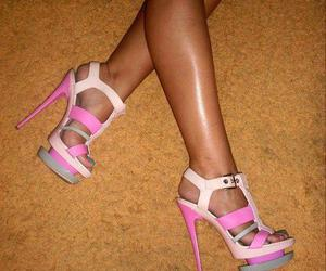 colorful, summer, and heels image
