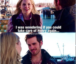 pirate, captain hook, and emma swan image