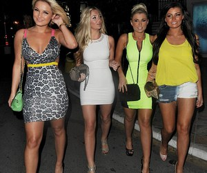 girls, lucy meck, and vegas image
